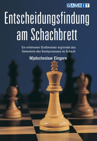 Schachbuch Entscheidungsfindung am Schachbrett