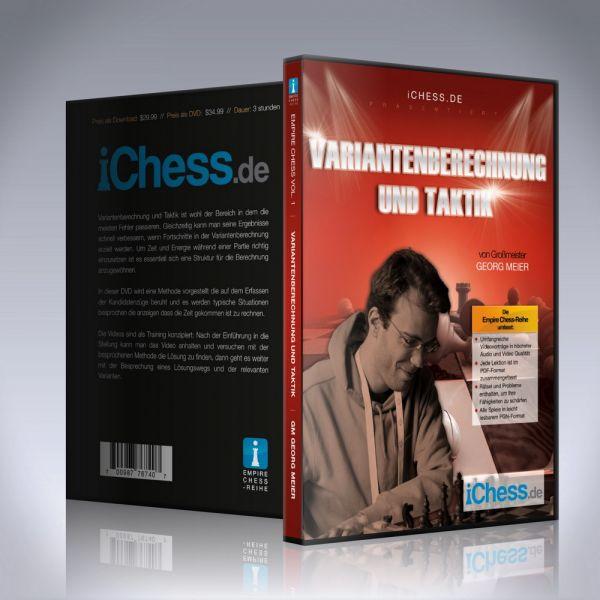 Schach DVD Variantenberechnung und Taktik