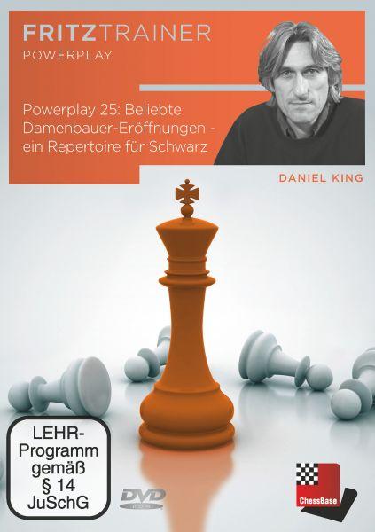 Schach DVD Power Play 25: Beliebte Damenbauer-Eröffnungen - ein Repertoire für Schwarz