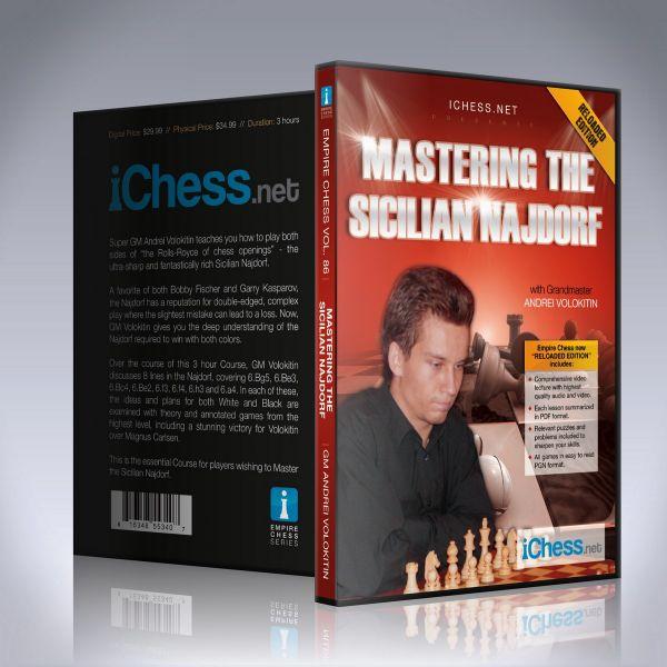 Schach DVD Mastering the Sicilian Najdorf