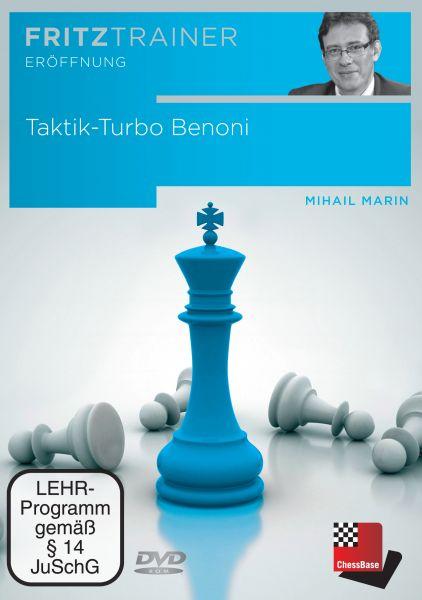 Schach DVD Taktik-Turbo Benoni