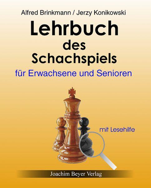 Schachbuch Lehrbuch des Schachspiels für Erwachsene und Senioren