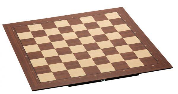 PC-Brett USB: DGT Smart Board mit Holzfiguren Timeless, mit Zahlen und Buchstaben