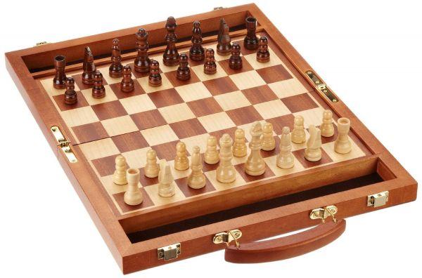 Schachkoffer, Königshöhe 64 mm, Feldgröße 35 mm