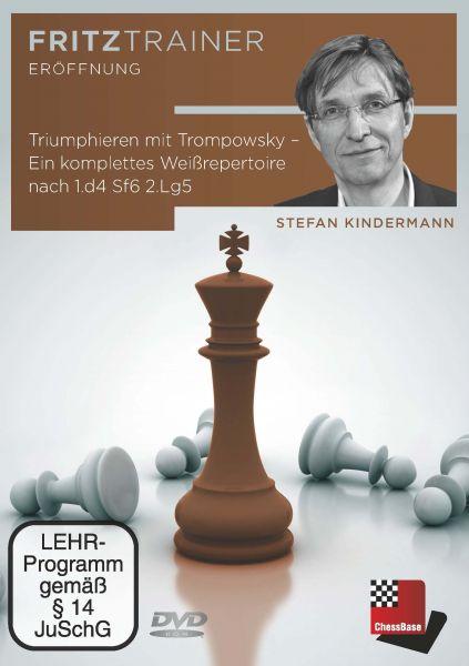 Schach DVD Triumphieren mit Trompowsky - Ein komplettes Weißrepertoire nach 1.d4 Sf6 2.Lg5