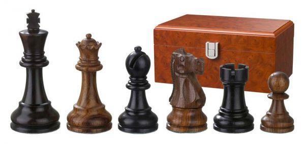 Schachfiguren Skipio, Königshöhe 95 mm