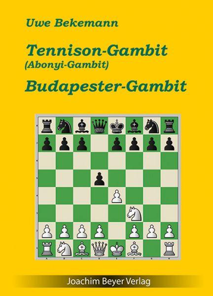 Schachbuch Tennison Gambit und Budapester Gambit