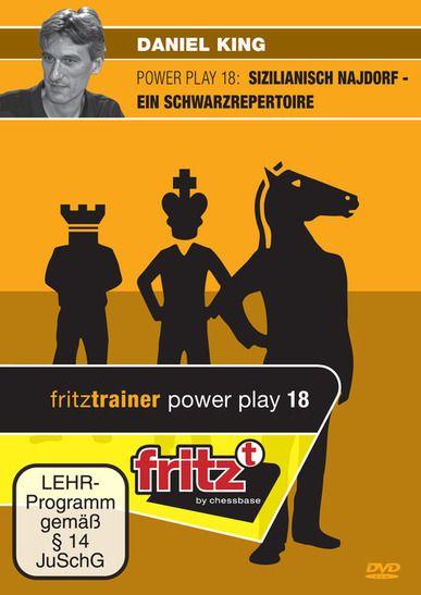 Schach DVD Power Play 18: Sizilianisch Najdorf - Ein Schwarzrepertoire