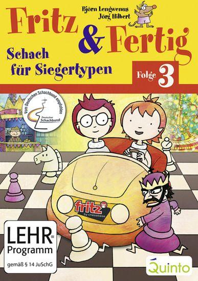 Schach DVD Fritz & Fertig Folge 3