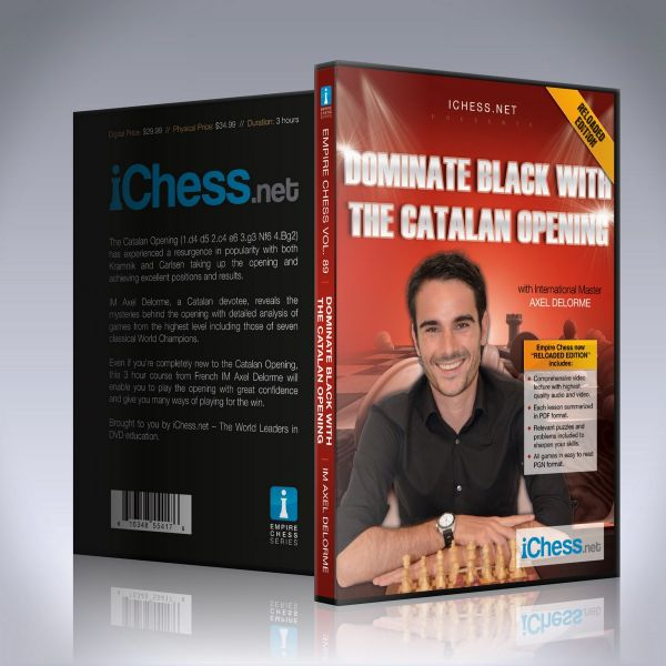 Schach DVD Dominate Black with the Catalan Opening