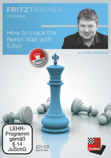 Schach DVD How to crack the Berlin Wall with 5.Re1