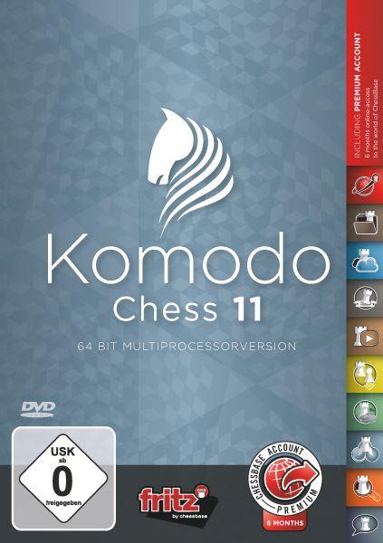 Schachprogramm Komodo 11