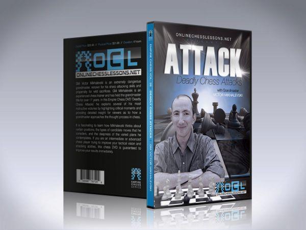 Schach DVD Deadly Chess Attacks