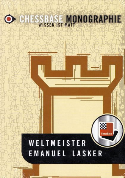 Schach CD Weltmeister Emanuel Lasker