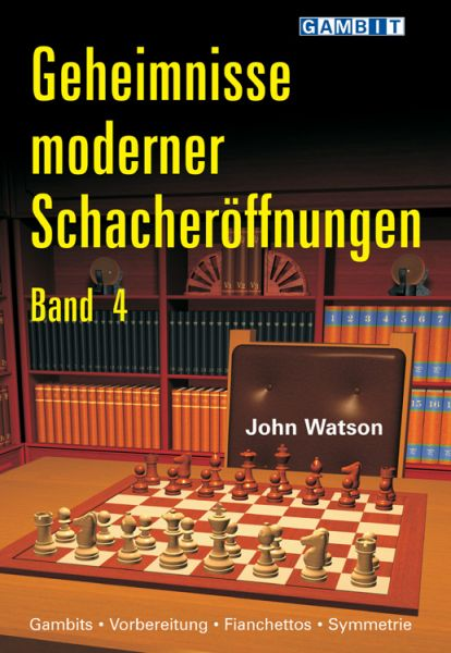 Schachbuch Geheimnisse Moderner Schacheröffnungen, Band 4
