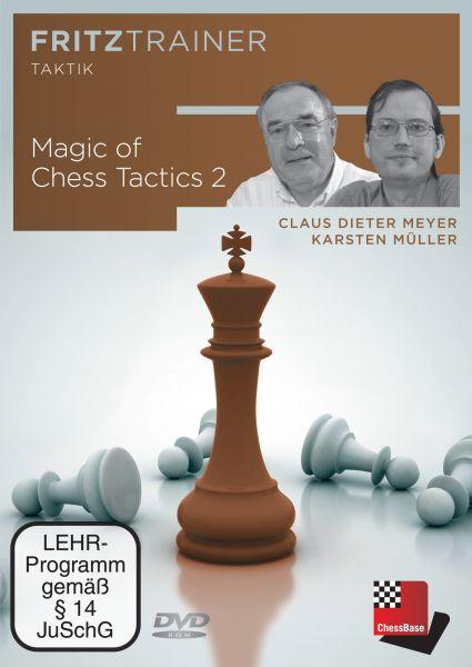 Schach DVD Magic of Chess Tactics 2