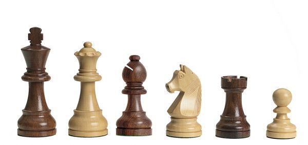 Schachfiguren Timeless, Königshöhe 95 mm (nicht elektronisch)