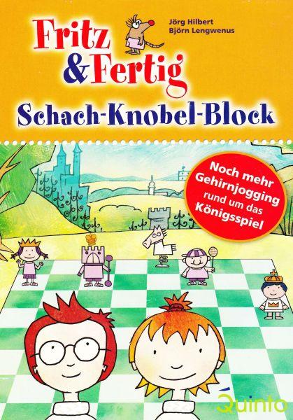Fritz und Fertig Schach-Knobel-Block