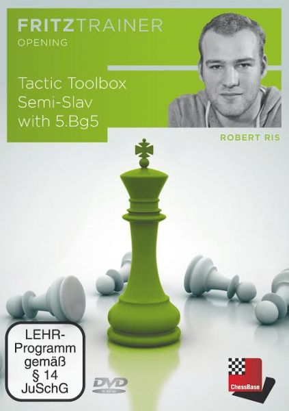 Schach DVD Tactic Toolbox Semi-Slav with 5.Bg5