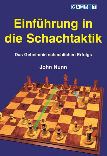 Schachbuch Einführung in die Schachtaktik