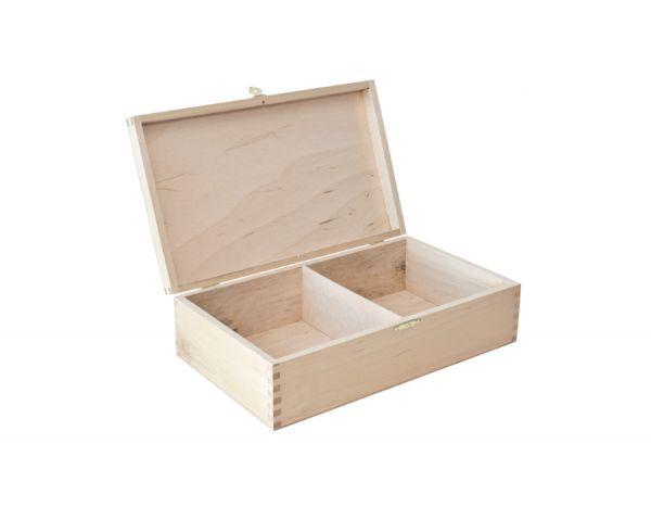 Schachfigurenbox Holz, geeignet bis Königshöhe 125 mm