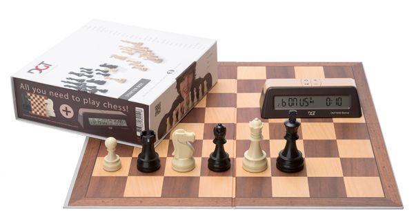 Schachstarterbox braun
