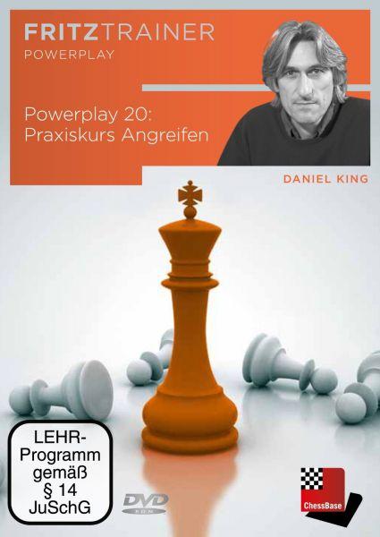 Schach DVD Power Play 20: Praxiskurs Angreifen