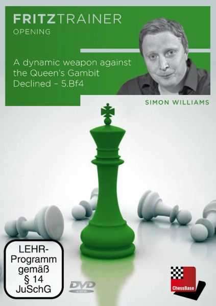 Schach DVD A dynamic weapon against the Queen's Gambit Declined – 5.Bf4
