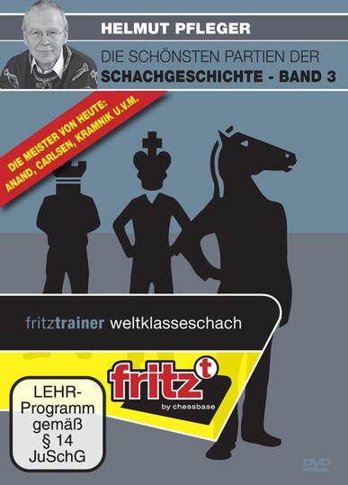 Schach DVD Die schönsten Partien der Schachgeschichte - Band 3