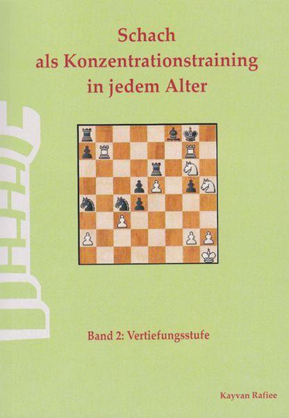 Schachbuch Schach als Konzentrationstraining Band 2
