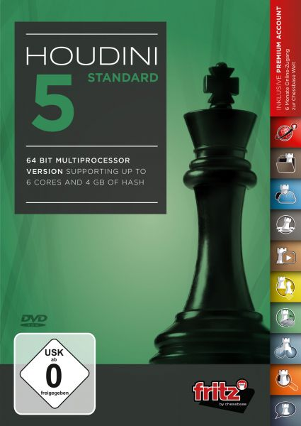 Schachprogramm Houdini 5 Standard