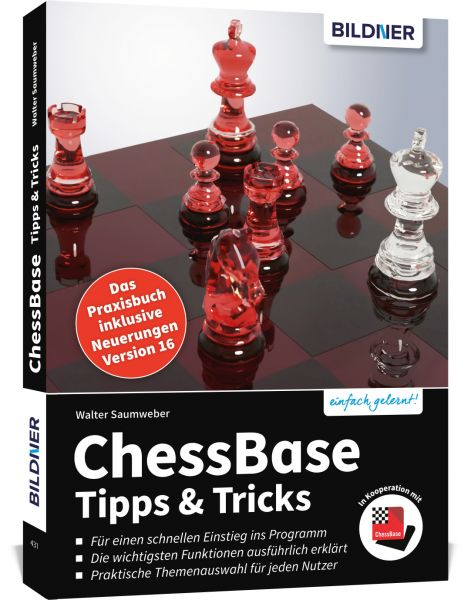 Schachbuch ChessBase Tipps & Tricks