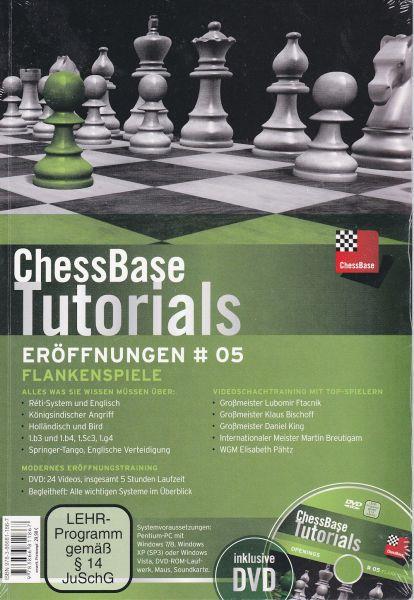 Schach DVD ChessBase Tutorials Eröffnungen # 05: Flankenspiele
