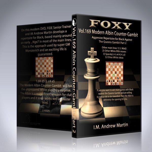 Schach DVD Modern Albin Counter-Gambit - Aggressive Repertoire for Black Part 2
