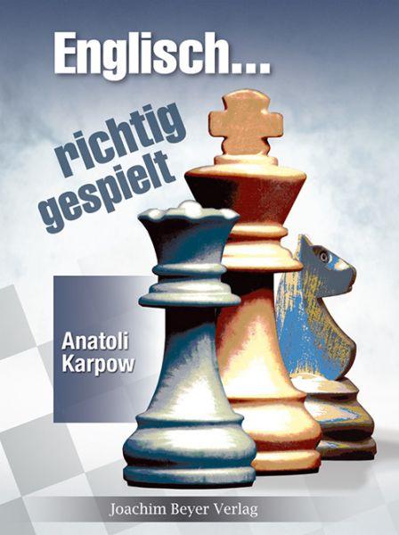 Schachbuch Englisch - richtig gespielt