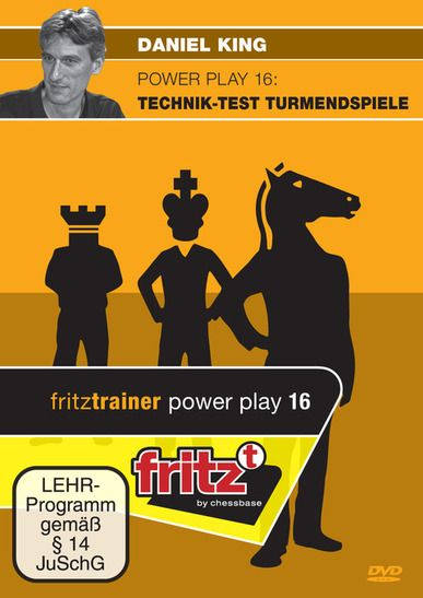 Schach DVD Power Play 16: Technik-Test Turmendspiele