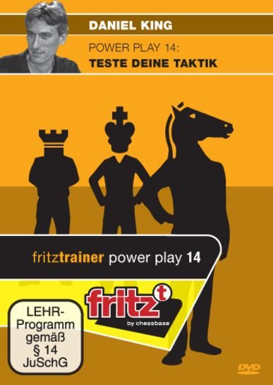 Schach DVD Power Play 14: Teste Deine Taktik