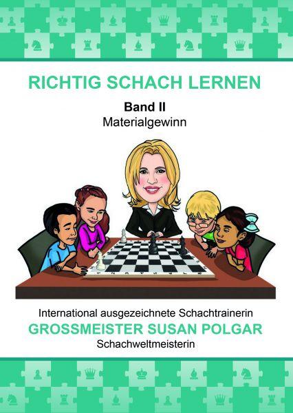 Schachbuch RICHTIG SCHACH LERNEN Band II