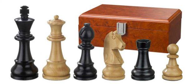 Schachfiguren Ludwig XIV, Königshöhe 95 mm