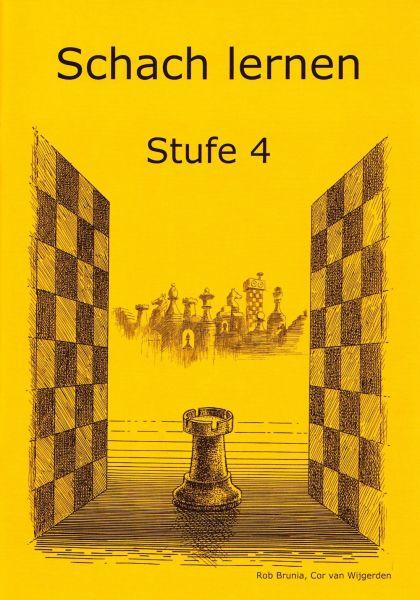 Schach lernen - Stufe 4 Schülerheft
