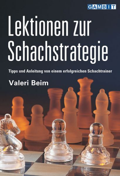 Schachbuch Lektionen zur Schachstrategie