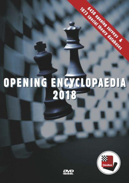 Schach DVD Eröffnungslexikon 2018