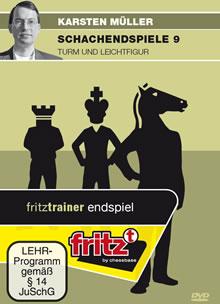 Schach DVD Schachendspiele 9 - Turm und Leichtfigur