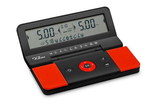 Schachuhr DGT 960 schwarz/rot