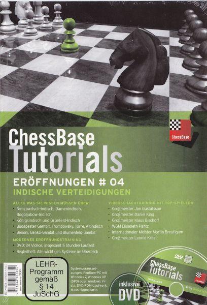 Schach DVD ChessBase Tutorials Eröffnungen # 04: Indische Eröffnungen