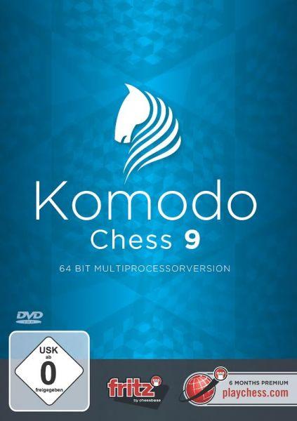 Schachprogramm Komodo Chess 9