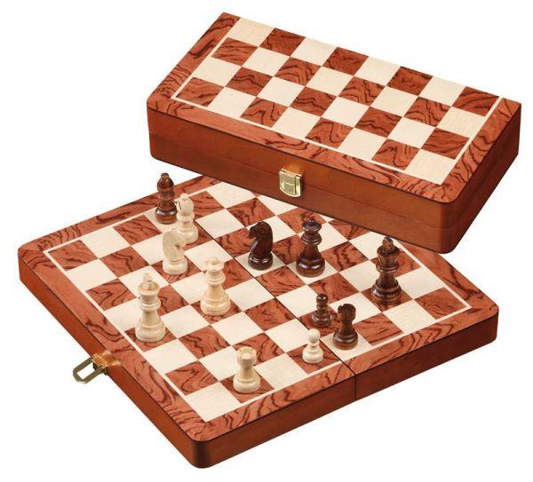 Schachkassette Staunton, Königshöhe 61 mm, Feldgröße 32 mm
