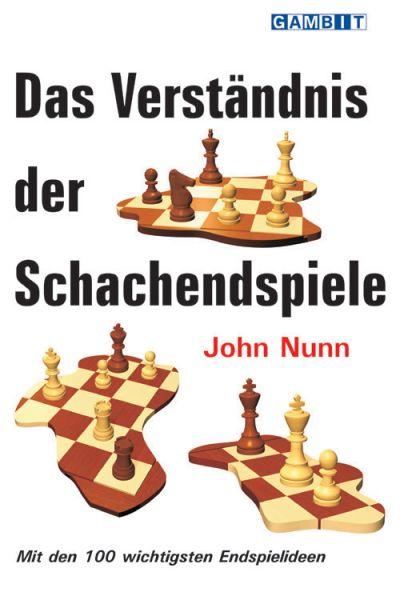 Schachbuch Das Verständnis der Schachendspiele