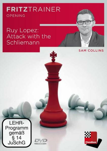 Schach DVD Ruy Lopez: Attack with the Schliemann