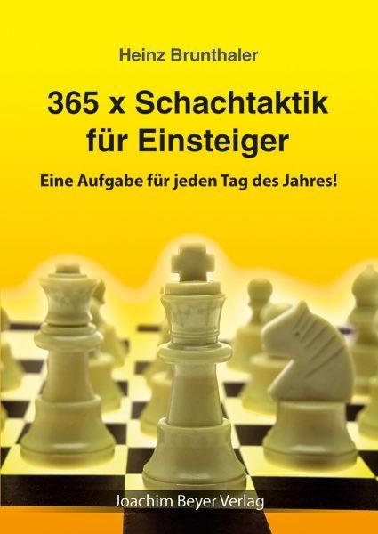 Schachbuch 365 x Schachtaktik für Einsteiger